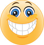 Smiley. Lächeln. Freude. Lizenzfreies Stockfoto