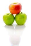 Bild av äpplen Royaltyfria Foton