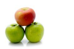 Bild av äpplen Arkivfoto