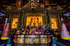 Bild av Buddha, kinesisk tempel, En-mor tempel Royaltyfria Foton