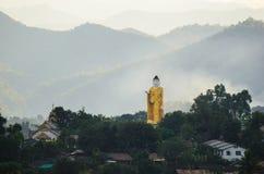 Bild av Buddha, vift. Arkivbilder