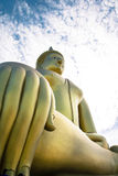 Bild av Budha i Thailand Royaltyfria Bilder