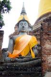 Bild av den berömda buddha templet royaltyfri bild