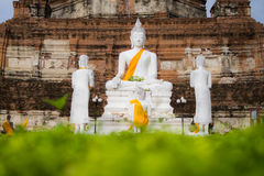 Bild av den berömda buddha templet Royaltyfria Bilder