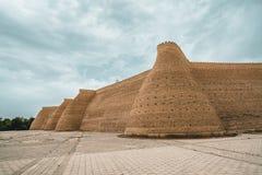 Bild av den enorma forttillflykten av Bukhara arkivfoto