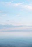 Bild av den härliga havsikten Arkivfoton