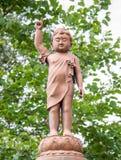 Bild av den konkreta unga Buddha Arkivfoton