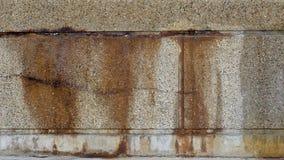 Bild av det rostiga korta staketet Arkivfoton