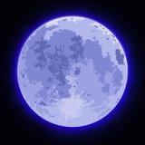 Bild av fullmånen Royaltyfri Bild