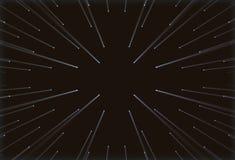 Bild av hål på en svart bakgrund som ljus passerar till och med Arkivfoton