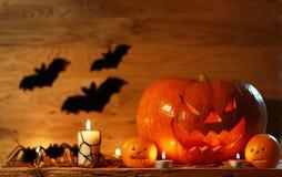 Bild av halloween feriebakgrund Royaltyfria Bilder