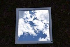 Bild av himlen Arkivfoto