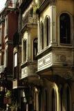 Bild av lantliga hus Royaltyfri Fotografi