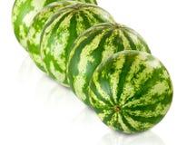 Bild av många vattenmelon arkivbilder