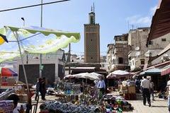 bild av marknadsplatsen, Casablanca, Marocko Fotografering för Bildbyråer