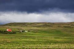 Bild av naturen och landskap av Island royaltyfria foton