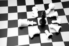 bild av schackbrädet inga personer royaltyfri bild