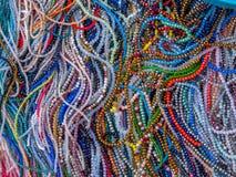 Bild av smyckendelar för handgjorda hantverk arkivfoton