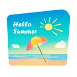 Bild av sommartid Fotografering för Bildbyråer