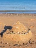 Bild av strandsandbakgrund - materielfoto Royaltyfri Fotografi