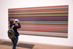 Bild bei Tate modern, London lizenzfreies stockfoto