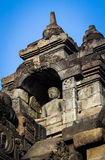 Bild Borobudur Buddha stockbild