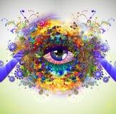 Bild der abstrakten Kunst Stockfotos