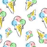 Bild der Eiscreme Background Stockbilder