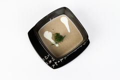 Bild der geschmackvollen Pilzsuppe Lizenzfreie Stockfotos