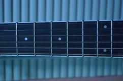 Bild der Gitarre Stockbild