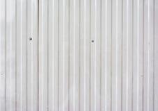 Bild der grauen Wandbeschaffenheit der Blechtafel stockbilder