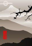 Bild in der japanischen Art Stockfoto