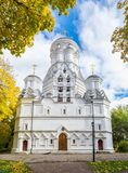 Bild der Kirche der Enthauptung von Johannes der Täufer in Dyakovo, Kolomenskoye, Moskau Stockfoto