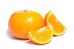 Bild der orange Früchte Lizenzfreie Stockbilder