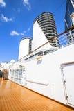 Bild der Plattform auf einem Kreuzschiff Stockfoto