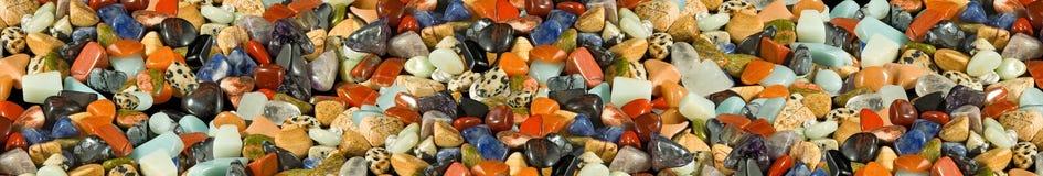 Bild der unterschiedlichen Steinnahaufnahme Lizenzfreies Stockbild