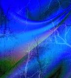 Bild des abstrakten blauen Hintergrundes Stockfotografie