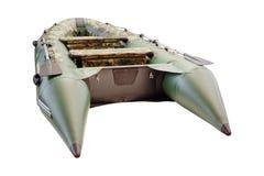 Bild des aufblasbaren Bootes Lizenzfreie Stockfotografie