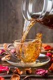 Bild des Bechers mit Tee Lizenzfreie Stockbilder