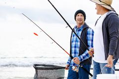 Bild des Fischers Lizenzfreies Stockbild
