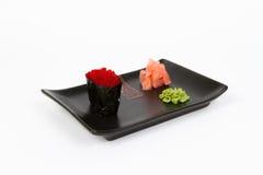 Bild des geschmackvollen nigiri Stockfotos
