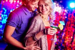Paare an der Partei Stockbilder