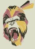 Bild des Gorillas Lizenzfreie Stockbilder