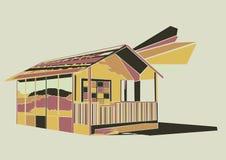 Bild des Hauses Lizenzfreie Stockbilder