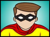 Bild des Helden Stockfoto