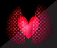 Bild des Herzens und der Lungen Stockbilder
