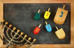 Bild des jüdischen Feiertags Chanukka lizenzfreie stockfotos