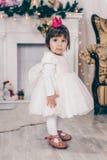 Bild des kleinen netten Mädchens lizenzfreies stockbild