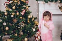 Bild des kleinen netten Mädchens Stockfoto