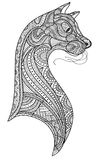 Bild des Kopfes der Katze vektor abbildung